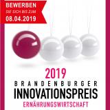 Innovationspreis Ernährungswirtschaft des Landes Brandenburg