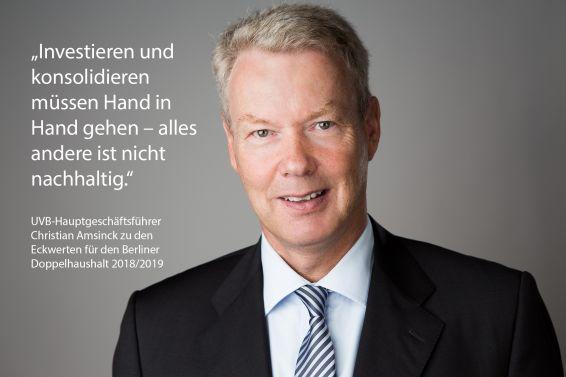 Christian Amsinck zum Doppelhaushalt 2018/2019