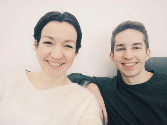 Stella Strüfing und Christian Zimmermann
