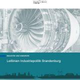 Titel Leitlinien Industriepolitik Brandenburg