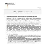 SARS-CoV-2-Arbeitsschutzstandard, BMAS