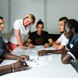 Integration in den Arbeitsmarkt