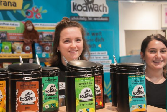 Grüne Woche, IGW; koawach; Koffein-Kakao